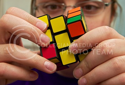 (Photo by Jed Barker | Collegian) Puzzles and other mentally challenging activities help keep your brain fit and prevent diseases such as Alzheimer's.