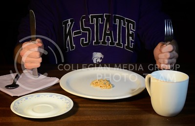 (Photo by Parker Robb | Collegian)  Unbeknownst to many, hunger is a prevalent issue in the K-State and Manhattan community. About a quarter of Manhattan residents are below the poverty line and at risk of going hungry.