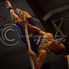 (Photo by Parker Robb | Collegian)<br /> <br /> K-State pole vaulter Reinis Kregers pushes himself over the pole-vault bar at the K-State Open Track and Field meet February 16 at Ahearn Fieldhouse.