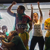 (Photo by Taylor Alderman   Collegian)<br /> <br /> Brazil fans celebrating during a World Cup watch party at Tanner's on June 12, 2014.