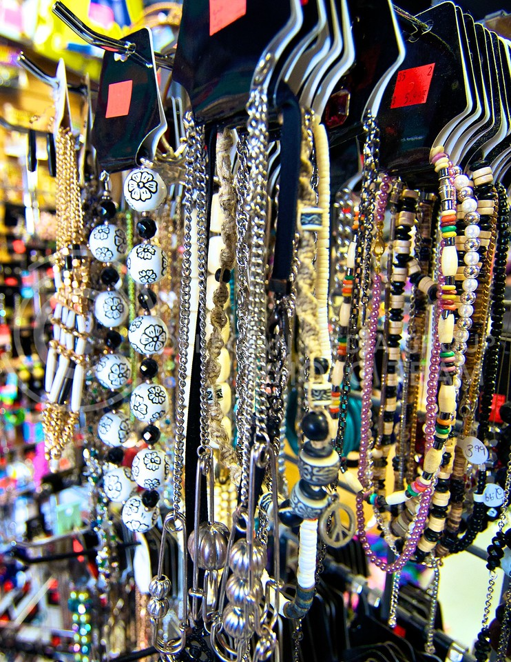 Photo by Jed Barker | The Collegian<br /> <br /> If you're not sure what to get that special lady in your life, jewelry, such as a pretty necklace is a safe bet.