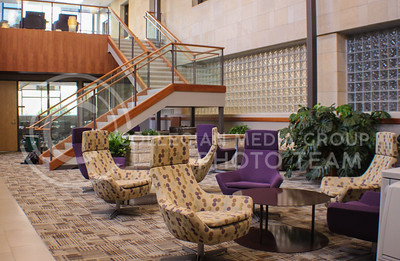 Photo by Mauricio Caldera | The Collegian  Justin Hall offers excellent facilities & equipment for all K-State students. This Hall, as well as many others, remain open for students during finals week, providing an exceptional place to get schoolwork done.