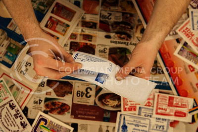 Hannah Hunsinger |The Collegian While using coupons can be a way to save money it's important to do it carfeully to avoid over buying.