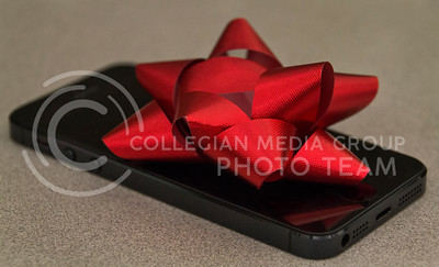 (Photo by Taylor Alderman | Collegian)  Technology is always a popular gift during the holiday season. When giving to a technology lover, the iPhone 5s is one of the newest toys for this time of the year.