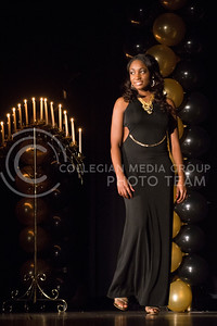 Katheryne Johnson during the evening gown portion of the competition.