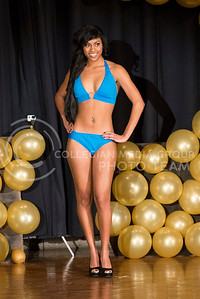Racya Doyle during the swimsuit portion of the competition.