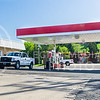 Parker Robb | The Collegian<br /> <br /> One person was injured and airlifted to a hospital in another city following a shooting about 1 p.m. May 7, 2014, at the Hop-n-Skip service station on the southwest corner of the intersection of Tuttle Creek Boulevard and Kimbal Avenue.