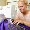 Parker Robb | The Collegian<br /> <br /> Stoskopf started her business after becoming curious about gameday apparell she saw being worn at K-State games, and experimenting with a dress design over Christmas break her sophomore year two-and-a-half years ago, and her small business has flourished since then.