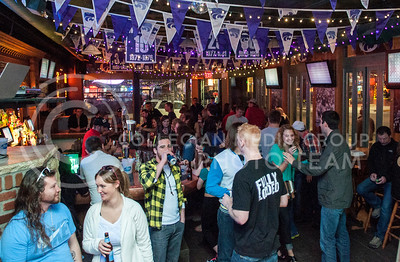 Kite's Bar and Grille buzzes with activity on a Saturday, March 29. Business Insider named Kite's Grille & Bar one of the best college bars in the U.S.