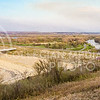 Parker Robb | The Collegian<br /> <br /> The Big Blue River snakes away into the distance from the Tuttle Creek dam en route to its rendezvous with the Kansas River on the southeast side of Manhattan. Over $1 billion worth of property lies in the floodplain below Tuttle Creek Lake.