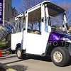 Parker Robb | The Collegian<br /> <br /> The The Student Access Center, the Office of Sustainability and a local Manhattan inventor recently joined forces in order to provide a golf cart that is powered by the sun to transport disabled students around the K-State campus. The detachable solar panels, unlike conventional solar panels, follow the sun in order to collect the maximum amount of energy possible.
