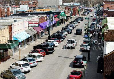The Aggieville Business District has much more to offer than bars, including The Dusty Bookshelf, Coldstone Creamery, and Acme Gifts.
