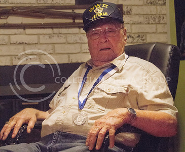 (Photo by Taylor Alderman | Collegian)  Jim Sharp, veteran of World War II, believes that D-Day is a day of historic rememberance, rather than a day to celebrate.