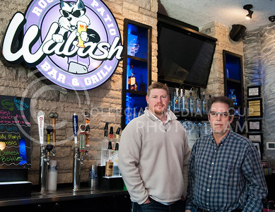 (Photo by Emily DeShazer | The Collegian)  Wabash owners Jerald Creed and David Bollman opened the first roof top bar in Aggieville after coming up with the idea three years prior at their sons' baseball game.