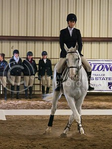 (Photo by Jed Barker | Collegian) K-State's Rachel Webster rides the horse name Marty as she competes in Equitation on the Flat against Texas A&M at Timbercreek Stables in Manhattan, Kansas on October 5, 2013.