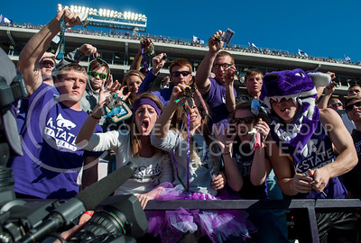 Photo by Hannah Hunsinger | The Collegian  KSU vs. West Virginia, on Oct. 26, 2013 in Bill Snyder Fmaily Stadium
