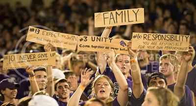 KSU vs NDSU game in Bill Snyder Family Stadium on Aug. 30, 2013.