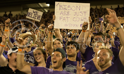 KSU vs NDSU game in Bill Snyder Family Stadium on Aug. 30, 2013.
