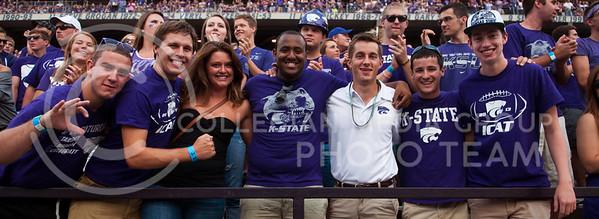Photo by Hannah Hunsinger   Collegian  KSU vs UMass on Saturday, September 14, 2013 in Bill Snyder Family Stadium