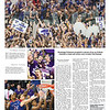 Front page of the Collegian after the win over KU.