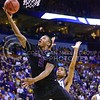 Parker Robb | The Collegian<br /> <br /> Freshman forward Marcus Foster rises for a layup late in the first half of K-State's second-round NCAA tournament loss at the hands of Kentucky March 21, 2014, at the Scottrade Center in St. Louis.