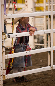 Cowboys of all ages came out to the Kaw Valley PRCA Rodeo in CiCo Park on July 25, 2015.