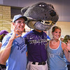 "Willie poses with K-State and Royals fans at ""K-State Day at the K"" during the Kansas City Royals vs Texas Rangers game June 7, 2015, at Kauffman Stadium in Kansas City, Missouri. (Parker Robb 