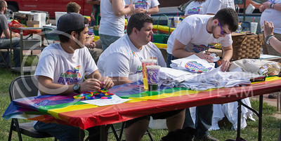 6th Annual Little Apple Pride parade and celebration in Triangle Park on April 11, 2015 (George Walker | The Collegian)