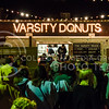 Parker Robb | The Collegian<br /> <br /> Customers line up in front of the Varsity Truck Sep. 11. Even though it has only been open for about two years, the Varsity Truck in Aggieville has become a late night food staple, and its Mac 'n' Cheese Grilled Cheese is especially popular.