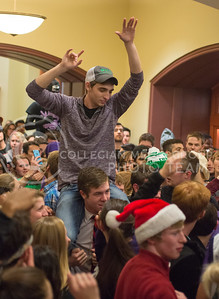 Hale Storm Library Rave, Dec. 12, 2014 at Hale Library (George Walker | The Collegian)