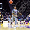 Sophomore guard Marcus Foster shouts in contempt after fouling a West Virginia player on a breakaway pass from sophomore forward Wesley Iwundu in the first half of the Wildcats' brutal 59-65 loss to the #17-ranked Mountaineers January 27, 2015, in Bramlage Coliseum. (Parker Robb | The Collegian)