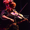 """Parker Robb   The Collegian<br /> <br /> Dubstep violinist Lindsey Stirling performs one of her latest hits, """"Shatter Me,"""" which she wrote about being herself and breaking out of the mold other people have placed on her, during her concert September 13, 2014, on Bosco Plaza."""