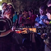 Parker Robb | The Collegian<br /> <br /> Dubstep violinist LIndsey Stirling signs a fan's violin following her free concert on Bosco Plaza September 13, 2014.
