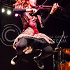 Parker Robb | The Collegian<br /> <br /> Dubstep violinist Lindsey Stirling combines violin music to pulsating dubstep beats and dance for a show like no other September 13, 2014, on Bosco Plaza.