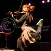 Parker Robb | The Collegian<br /> <br /> YouTube sensation Lindsey Stirling, who performed September 13, 2014, on Bosco Plaza, is known for her emotional choreography that she does to her original dubstep violin compositions.
