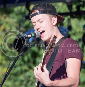Alex Shaw   Collegian Media Group  Joel Ormord Leads Faux Forte's proformance at the Opus Band Showcase Sept 26, 2014