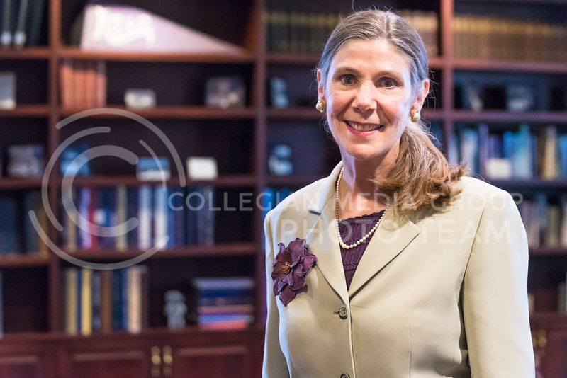 Provost and Senior Vice President April Mason has been the second-in-command administratively at K-State for five years. (Parker Robb | The Collegian)