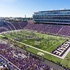 """The Pride of Wildcat Land performs hits from The Beatles, including """"Yellow Submarine,"""" during halftime of the Wildcats' 23-0 shutout of the Texas Longhorns Oct. 25, 2014, in Bill Snyder Family Stadium. (Parker Robb 