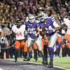 K-State running back Charles Jones scores a touchdown on Saturday, November 1, 2014 at Bill Snyder Family Stadium. (Emily DeShazer | The Collegian)