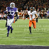 K-State returnman Morgan Burns returns it all the way for a touchdown on Saturday, November 1, 2014 at Bill Snyder Family Stadium. (Emily DeShazer | The Collegian)