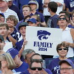 (Photo by Rodney Dimick | Collegian) K-State fans show the importance of family on August 30, 2014 at Bill Snyder Family Stadium.