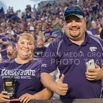 (Photo by Rodney Dimick | Collegian) Fans enjoy the K-State football experience on August 30, 2014 at Bill Snyder Family Stadium.