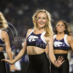 Classy Cats perform during the halftime show on Sept. 18, 2014 at Bill Snyder Family Stadium.  (Rodney Dimick | The Collegian)