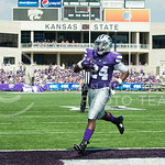 K-State running back Charles Jones scores a wide open touchdown on Saturday, September 27, 2014 at Bill Snyder Family Stadium.