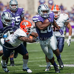 K-State running back DeMarcus Robinson escapes the UTEP defense for a touchdown on Saturday, September 27, 2014 at Bill Snyder Family Stadium.