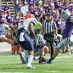 K-State kicker Jack Cantele attempts a point after on Saturday, September 27, 2014 at Bill Snyder Family Stadium.