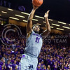Senior forward Nino Williams hits a jumper in the second half of the Wildcats' 63-61 come-from-behind victory over the #22 Bears Saturday, January 17, 2015, in Bramlage Coliseum. (Parker Robb | The Collegian)