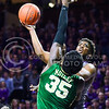 Senior forward Nino Williams goes up for a layup against Baylor forward Johnathan Motley in the first half of the Wildcats' 63-61 come-from-behind victory over the #22 Bears Saturday, January 17, 2015, in Bramlage Coliseum. (Parker Robb | The Collegian)