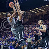 K-State forward Wesley Iwundu goes for a basket during the game against Nebraska-Omaha on Dec. 2, 2014 at Bramlage Coliseum. K-State defeated Omaha-Nebraska 84-66. (George Walker | The Collegian)