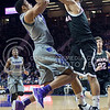 K-State guard Justin Edwards goes for a basket during the game against Nebraska-Omaha on Dec. 2, 2014 at Bramlage Coliseum. K-State defeated Omaha-Nebraska 84-66. (George Walker | The Collegian)